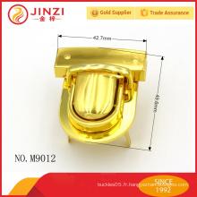 Vente en gros d'accessoires en alliage de zinc en métal