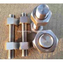 Studbolt and nut ASTM A193 B7