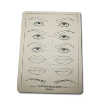High Quality Tattoo Permanent Makeup Eyebrow& Lip Skin No Poison Tattoo Practice Skins