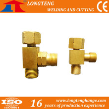 Gas Distributor for CNC Cutting Machine Brass Fittings Longteng Welding and Cutting