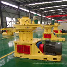 Máquina de pellets de madera de biomasa aprobada por la CE (1-10 toneladas / h)
