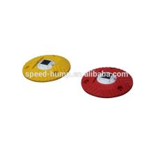 Bosse de vitesse en plastique solaire ronde