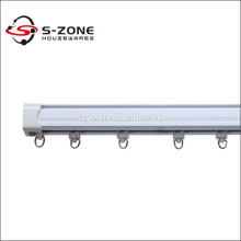 New plastic curtain rail design