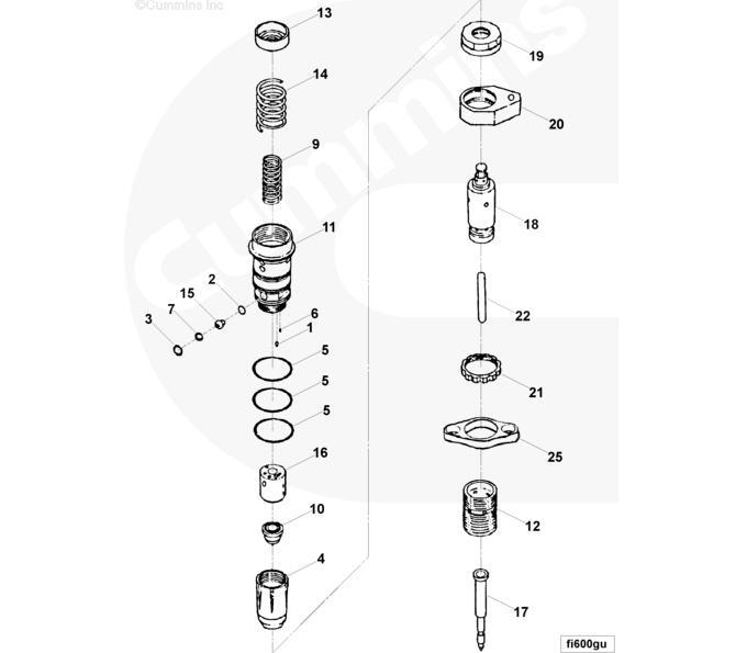 cummins k19 kta injector 3076132 3058802 china manufacturer