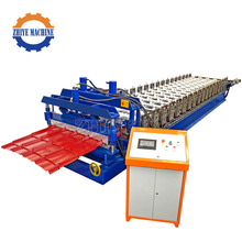 Glazed Steel Tile Cold Roll Forming Machinery