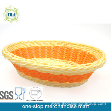 Oval Wicker Bread Basket