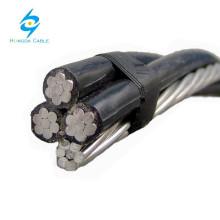 Câble aérien en aluminium de câble aérien de paquet aérien aérien de câbles d'ABC 25mm 35mm 50mm