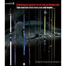 Alle Arten von Angelruten - Tele Spin / Sur / Boot / Forelle / Surf /