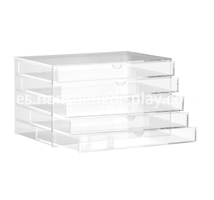 Acrylic 5 Drawers Multipurpose Box