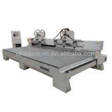 Precio barato multi-spindles cnc máquina para distribuidor de madera quería india