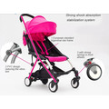 2015 wholesale modern aluminium light weight good baby stroller