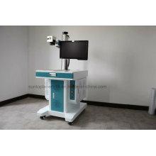 Peças de metal redondo e buracos quadrados laser máquina de perfuração / máquina de gravura profunda laser