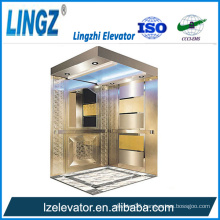 Residential Elevator with Mirror Etching
