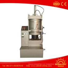 Máquina de la prensa hidráulica de la extracción del aceite de semilla de calabaza