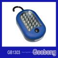 27 (24 + 3) Luz magnética del trabajo del gancho del LED