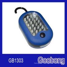 27 (24 + 3) Lumière de travail magnétique LED Crochet