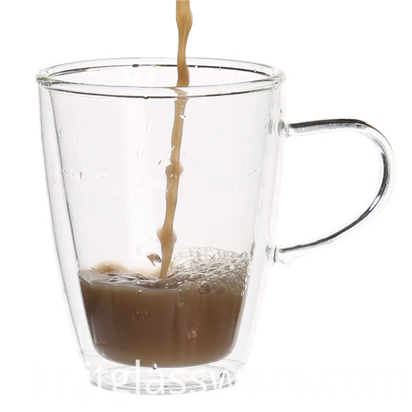 Double Glass Coffee Cup