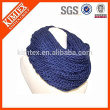 Großhandel Mode Winter strickte Unendlichkeit Schal