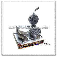 K504 Столешница 2 Головки Электрический Поворотный Вафельные Бейкер