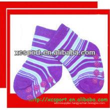 2013 Cute Animal strip Anti Slip Baby Socks Wholesale