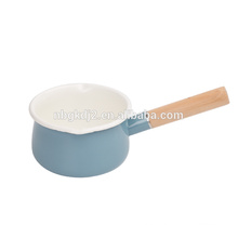 carbon steel with enamel coating High Quality Enamel Cooking Pot