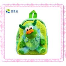 Green Monster Plush Backpack for Kids (XDT-0032Q)