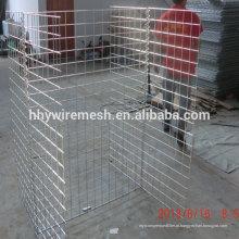 parede barreira galvanizada hesco soldada parede hesco bastião barreira de parede de segurança