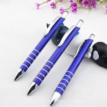 Preço barato em alumínio, caneta esferográfica em metal