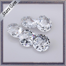 Brilho muito brilhante Rose Cut bela zircônia cúbica CZ pedras preciosas soltas para jóias