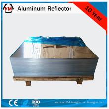 Mirror finish aluminum sheet roll and strip