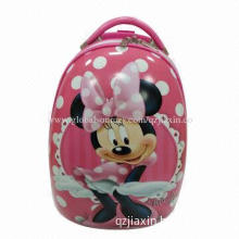 ABS Plastic Trolley Bag, Suitable for Kindergarten and School, Cute Cartoon Character