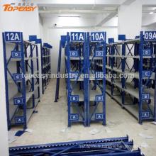 Étagère de support de stockage en métal de devoir moyen pour des pièces de rechange