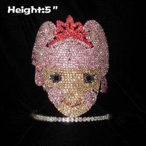 Preciosas y lindas coronas de princesa de cristal del concurso