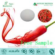 Hot chili pepper extract 95% capsaicin extract