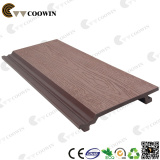 Wood plastic exterior wall panel