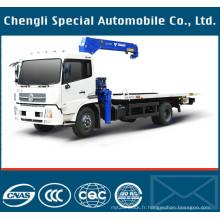 6,3 tonnes 4 X 2 lourd dépanneuse remorquage camion avec grue