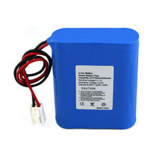 11.1V 2200mAh Lithium-ion Battery Pack, 18650 Flat Top 3S1P Contains 3 Cells, CE, UL, RoHS Listed