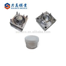 Fabricación de China Fábrica Al Por Mayor Pintura Directa Cubo Moldeo por Inyección de Plástico Fabricantes Pintura Personalizada Molde Del Cubo