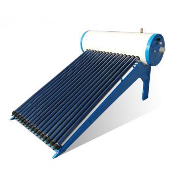 Tubulação de calor aquecedor solar de água pressurizada 150L
