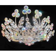 Diamond bridal tiara comb (GWST12-083)