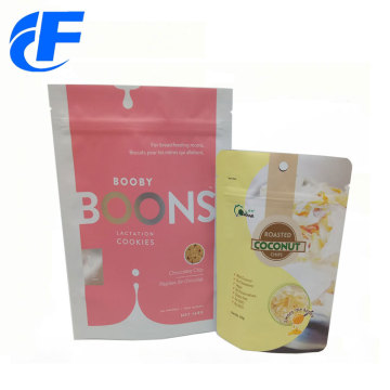 Food industrial use material aluminum foil bag