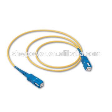 10PCS SC UPC SM Ligação em ponte óptica, cabo de remendo da fibra óptica, cabo de correcção óptica 3M da fibra do simplex para o transporte livre