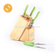 Hautement recommandé Private Label Set Couteau de cuisine OEM avec le classique Boîte en bois