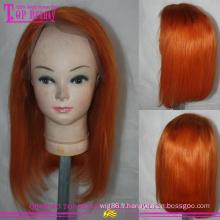 Cheveux humains vierges malaisiens shorrt couches bob full lace wig pas cher #360 bob perruque