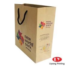 2017 Newly Design Clothes bag Logo Paper Bag