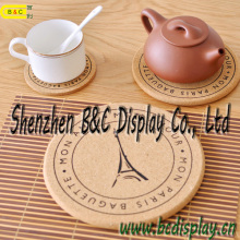 Thé Cork Coaster, Table Cork Coaster, Dessous de verre en carton, Set de table avec SGS (B & C-G113)