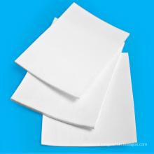 White 10 mm Plastic PtfePlate