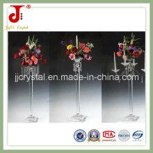 Centros de mesa de cristal alto