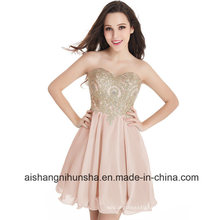 Lace Short Tight Homecoming Dresses Sexy Backless Chiffon Party Dress