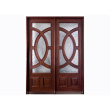 Solid Wood / Mdf Custom Timber Doors For Residential Houses